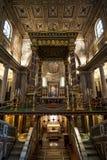 圣玛丽亚Msggiore教会 免版税库存照片
