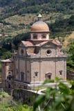 圣玛丽亚Nuova教会在科尔托纳 免版税图库摄影