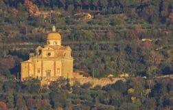 圣玛丽亚Nuova,科尔托纳教会  意大利 免版税库存图片