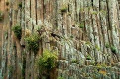 圣玛丽亚Regla玄武岩棱镜  墨西哥 库存照片