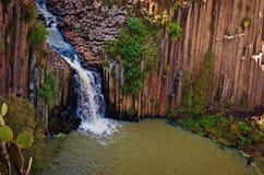 圣玛丽亚Regla玄武岩棱镜  墨西哥 库存图片
