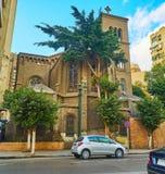 圣玛丽和平,开罗,埃及教会  库存图片