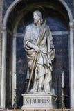 圣玛丽大教堂-意大利少校 库存图片