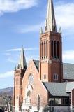 圣玛丽大教堂建筑学 图库摄影