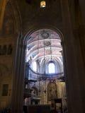 圣玛丽少校或里斯本大教堂家长式大教堂  免版税图库摄影