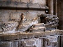 圣玛丽少校或里斯本大教堂家长式大教堂  免版税库存照片