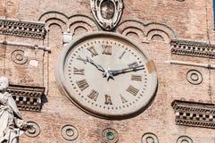 圣玛丽少校罗马教皇的大教堂在罗马,意大利 库存照片