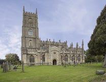 圣玛丽尖顶Ashton教会  库存图片