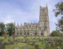 圣玛丽尖顶Ashton教会  免版税库存图片