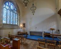 圣玛丽教会圣母堂 库存照片