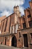 圣玛丽教会在托伦 免版税库存图片