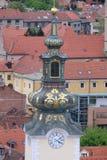 圣玛丽教会在萨格勒布 免版税图库摄影