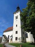 圣玛丽教会在Negova 免版税库存照片