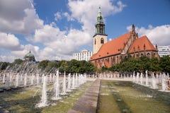 圣玛丽教会,柏林 免版税库存照片