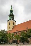 圣玛丽教会,柏林 免版税图库摄影