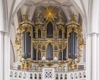 圣玛丽教会,柏林 免版税库存图片