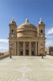 圣玛丽教会Mgarr的马耳他的 图库摄影