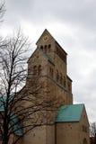 圣玛丽的大教堂。希尔德斯海姆,德国 免版税库存照片