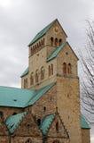 圣玛丽的大教堂。希尔德斯海姆,德国 库存图片