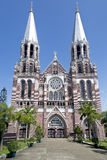 圣玛丽的大教堂在仰光 库存照片