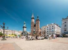 圣玛丽的大教堂, Krakà ³ w,波兰,欧洲 库存照片