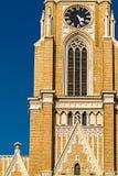圣玛丽的大教堂细节在诺维萨德 免版税库存照片