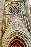 圣玛丽的大教堂细节在诺维萨德1 免版税图库摄影