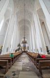 圣玛丽的教会在格但斯克 库存照片