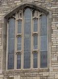 圣玛丽的教会窗口,温莎,安大略 免版税库存照片