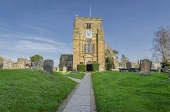 圣玛丽的教会, Goudhurst,肯特,英国 库存图片
