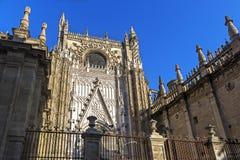 圣玛丽看见,塞维利亚,西班牙大教堂 免版税库存照片