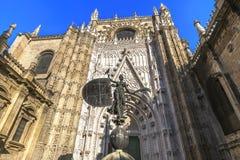 圣玛丽看见,塞维利亚,西班牙大教堂 免版税图库摄影