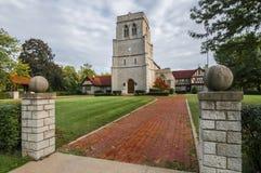 圣玛丽英国国教的教堂 免版税库存图片