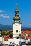 圣玛丽萨格勒布教会  库存图片