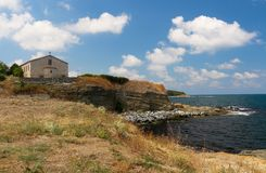 """圣玛丽,察雷沃,保加利亚的教会""""The做法 免版税库存照片"""