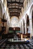 圣玛丽,牛津大学教会  库存照片