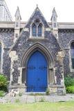 圣玛丽12世纪罗马尼亚样式教会维尔京,多弗,英国 库存照片
