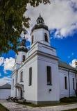 圣玛丽维尔京教会在波德拉谢地区别尔斯克 免版税库存图片