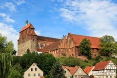 圣玛丽` s大教堂在哈费尔贝尔格德国 免版税库存照片