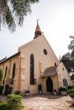 圣玛丽` s教会在班珠尔 库存照片