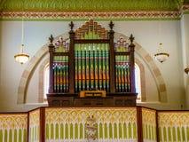 圣玛丽` s教会在Altus,阿肯色 库存照片