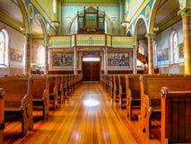 圣玛丽` s教会在Altus,阿肯色 免版税库存照片