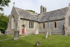 圣玛丽` s教会, Tyneham 库存照片