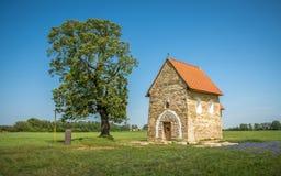 圣玛格丽特Antioch, Kopcany,斯洛伐克教会  库存照片