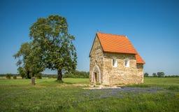 圣玛格丽特Antioch, Kopcany,斯洛伐克教会  免版税库存照片