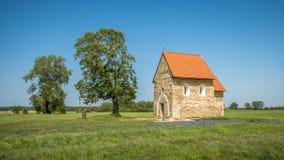 圣玛格丽特Antioch, Kopcany,斯洛伐克教会  免版税库存图片
