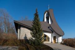 圣瓦茨拉夫和Anezky Ceske教堂  免版税图库摄影