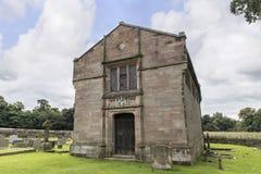 圣的Marys,下面的Alderley教区教堂斯坦利陵墓在彻斯特 库存图片