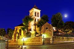 圣皮埃尔在蒙马特的de蒙马特 库存图片