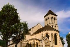 圣皮埃尔de蒙马特在巴黎,法国 免版税库存图片